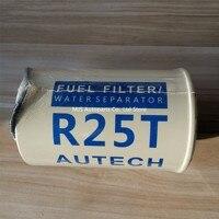 R25T 20998367 Filtros De Combustível Partes Principais do Separador De Água De Combustível para Motor de Turbina Marine Heavy duty truck trailer (aquecida copo)