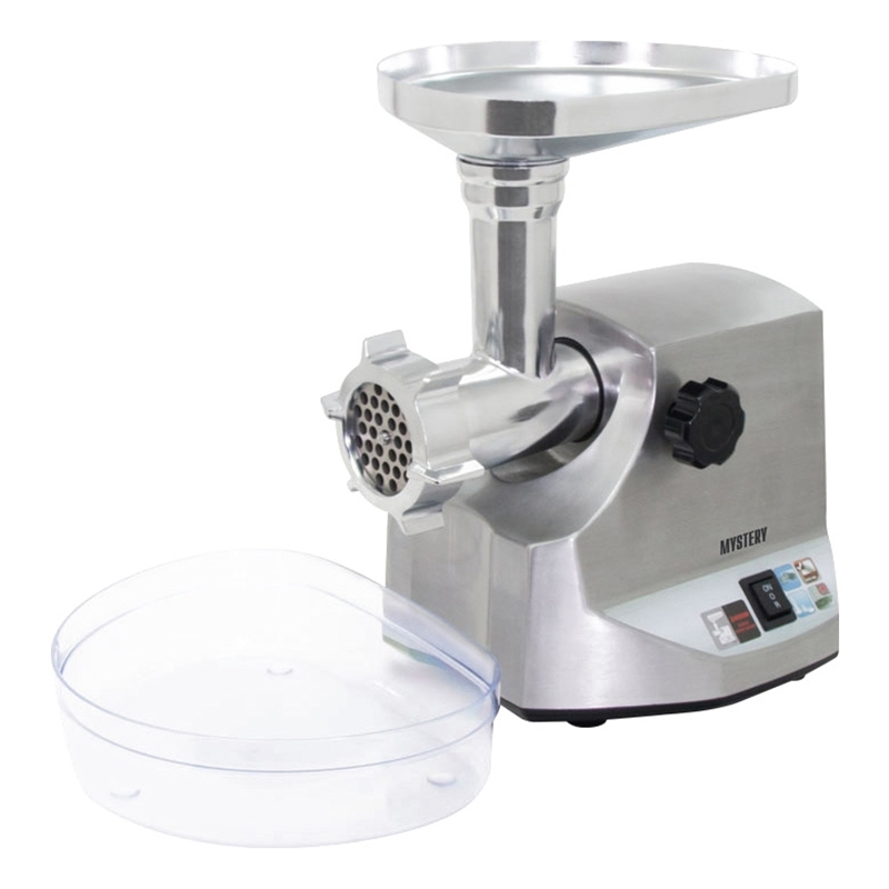 Electric meat grinder MYSTERY MGM-3100 (Power 3100 W, 3, and screw made of fine. Stainless steel reverb