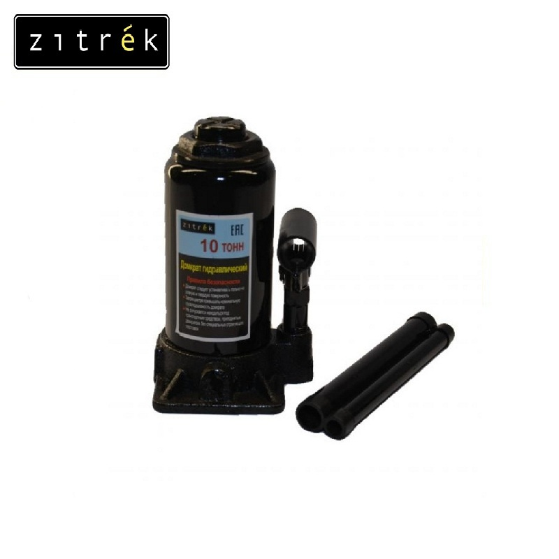 Jack hydraulic 10t Zitrek Power knot as part of complex machines and mechanisms Construction, repair and installation work