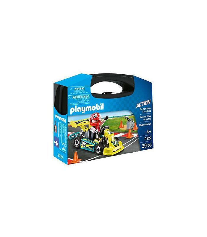 Playmobil 9322 Maletin Go Kart Toy Store