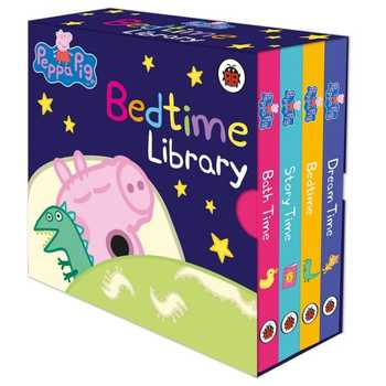 Peppa Pig : Little Library Book Children's English Birthday Gift Peppa Pig Bedtime Book Cartoon Material Early Education happy birthday peppa