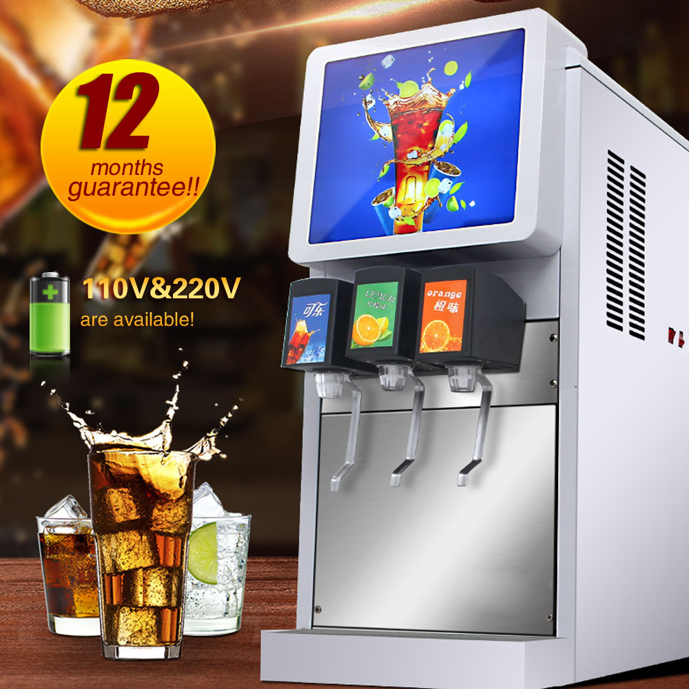Quick Cooling Refill Fountain Drink Machine  Full Automatic Juicer Cold Drink Soda Dispenser