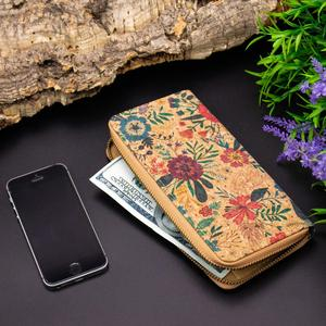 Image 5 - Cork with follower parrten cork zippler card phone womens wallet BAG 324