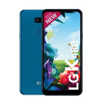 Перейти на Алиэкспресс и купить LG K40s двойная камера 32 Гб одна Sim Синяя