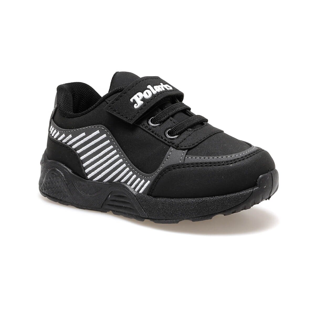 FLO 92.511873.P Black Male Child Sports Shoes Polaris