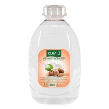 Komili Almond Milk Liquid Soap 2 lt Hand Soap Hand Cleanser MADE IN TURKEY High Quality Ingredients