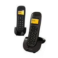 Telefone sem fio alcatel C 250 duo preto|Telefones| |  -