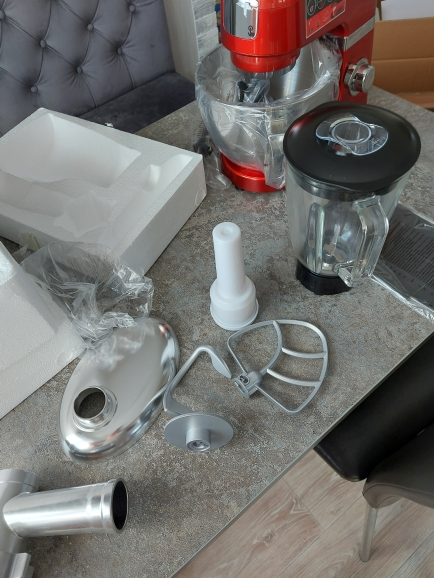 Food processor Zigmund & Shtain De Luxe ZKM 950 kitchen machine meat grinder mixer planetary blender appliances for kitchen|Food Processors|   - AliExpress