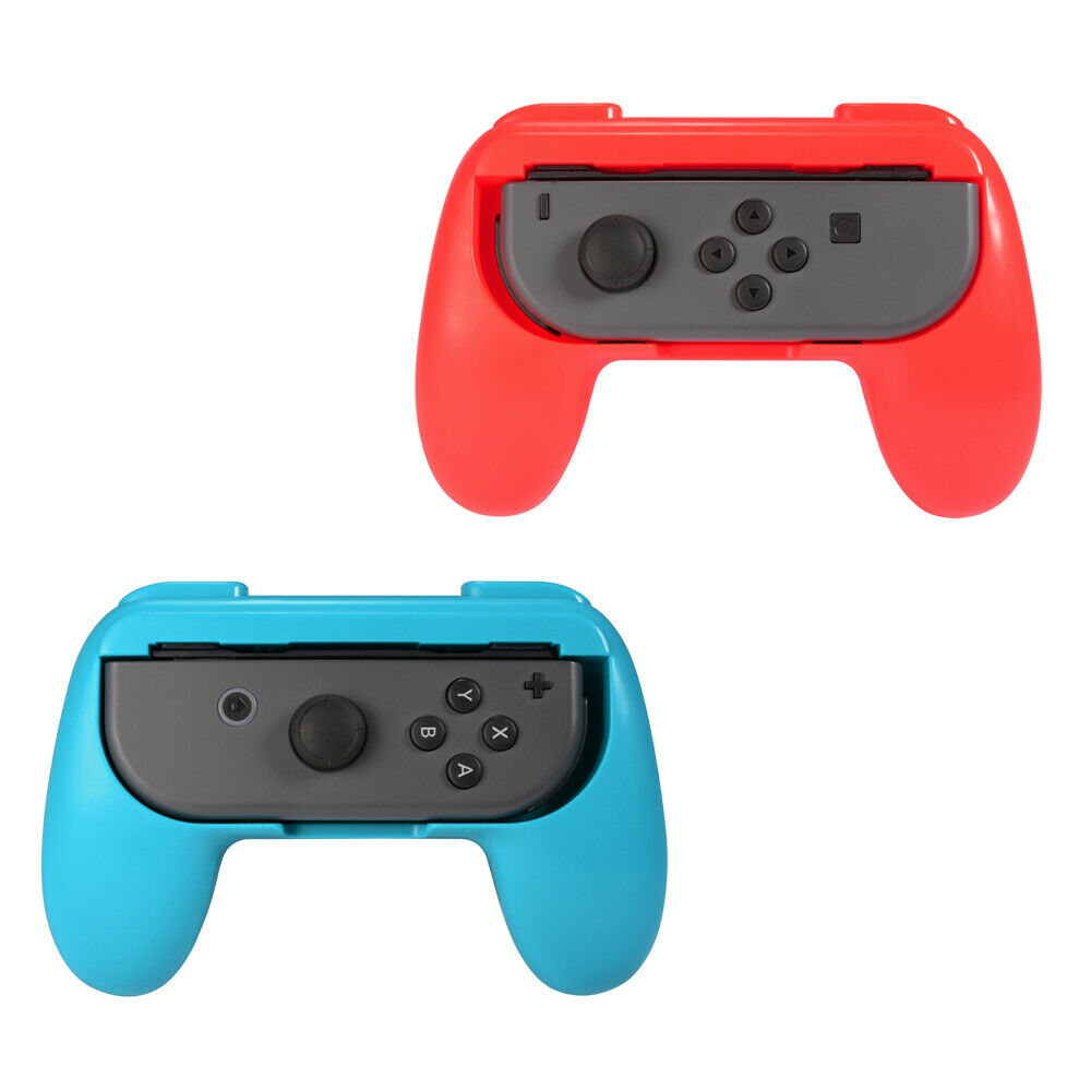 2pcs Grips For Nintendo Switch Portable Handle Game Console Joy-Wiht Left Right Controller