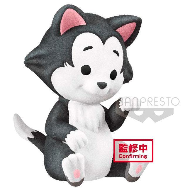 Figure Figaro Fluffy Puffy Disney Q Posket 4cm