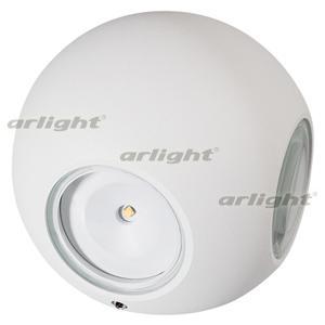 021819 Lamp LGD-Wall-Orb-4WH-8W Warm White [Metal] Box 1 Pcs ARLIGHT Led Lamp/Landscape [...