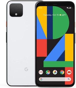 Перейти на Алиэкспресс и купить Телефон Googling Pixel 4, белый цвет (белый), 6 ГБ оперативной памяти, 64 ГБ внутренней памяти, две sim-карты, основная камера 16