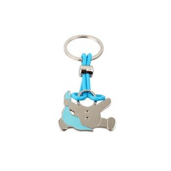 Lot 20 keyholders PERSONALIZED Bebe Diver Christening Boy Blue in Cash Box Gift-Details and gifts for christenings and Holy Communion