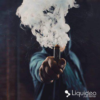 Evolution - Rouge - Liquideo e-liquide 50ML, sans nicotine 0MG, 50vg/50pg, e-liquide, cigarettes électroniques, vapoteur