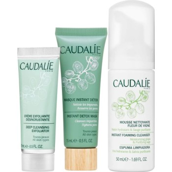 Caudalie Natural Cleansing Trio Set 1