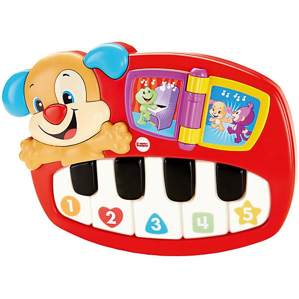 Musical toy fisher-price Laugh & learn Piano scientist puppy child animal farm musical electronic piano intelligence toy