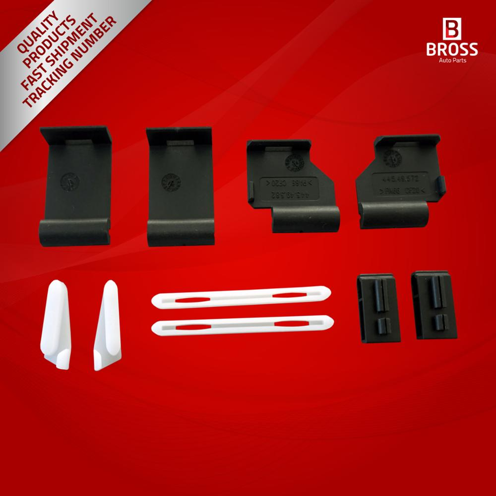 Bross BSR530 10 Pieces Sunroof Repair Kit for X5 E53 and X3 E83 2000-2006