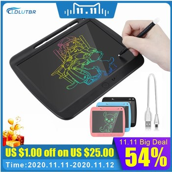 9 inch Portable Smart LCD Writing Tablet Electronic Notepad Rechargeable Doodle Board Color Scribble