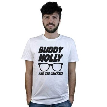 Mens illy glietta Bianca Buddy Holly and the Criets  Roll T-shirt недорого