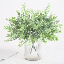 Artificial Flower Plastic Vine Fake Plant Simulation Bouquet Wedding Home Decoration Restaurant Ornament