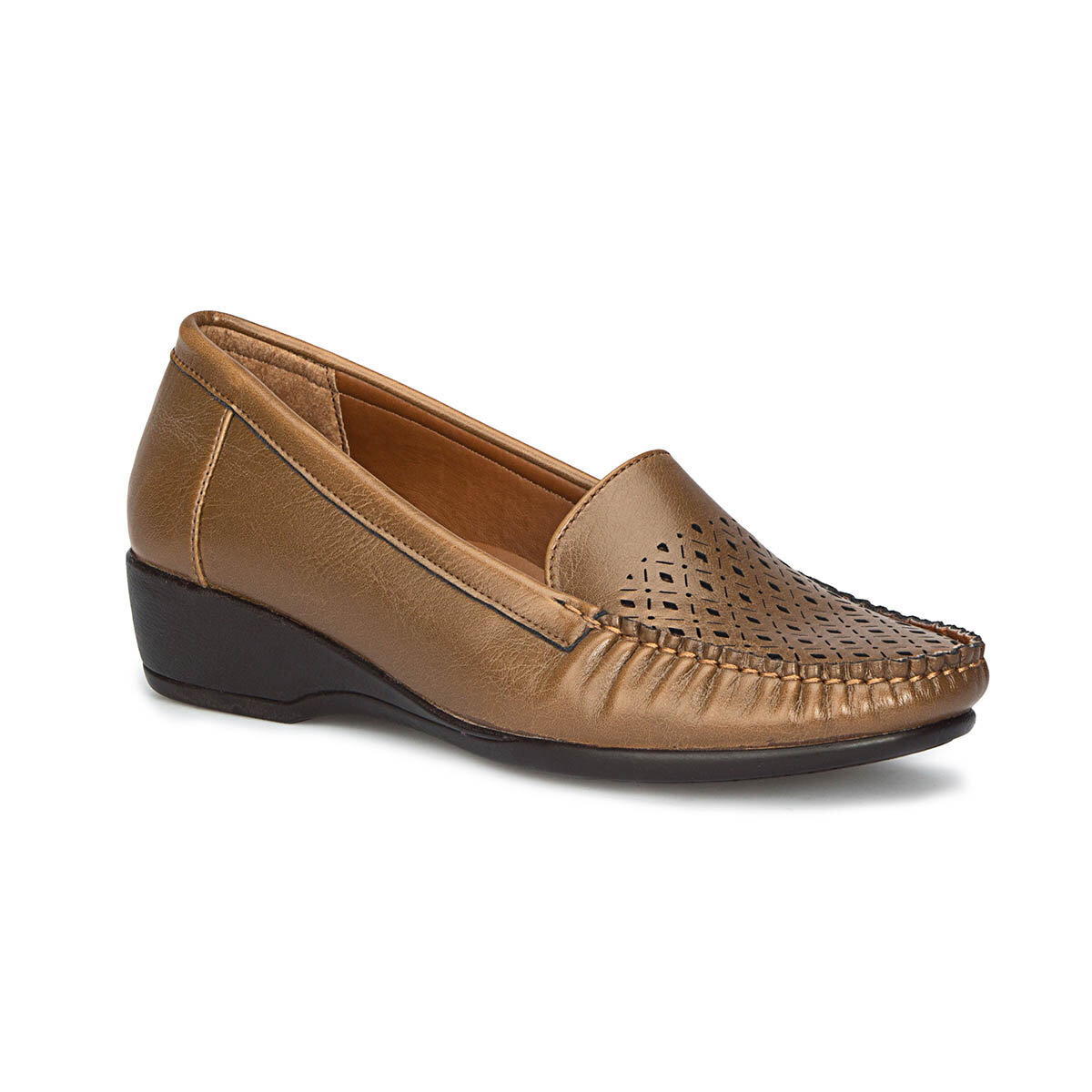 FLO 71. 157281.Z Tan Women Loafer Shoes Polaris