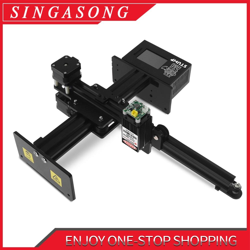 20W CNC Laser Engraver Laser Engraving Machine Mini Laser Engraver Portable Household DIY Laser Engraving Cutting machineWood Routers   -