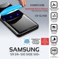 UV Flüssigkeit gebogene volle kleber gehärtetem glas handycase für Samsung Galaxy S10 plus s10e S9 S9 Plus screen protector