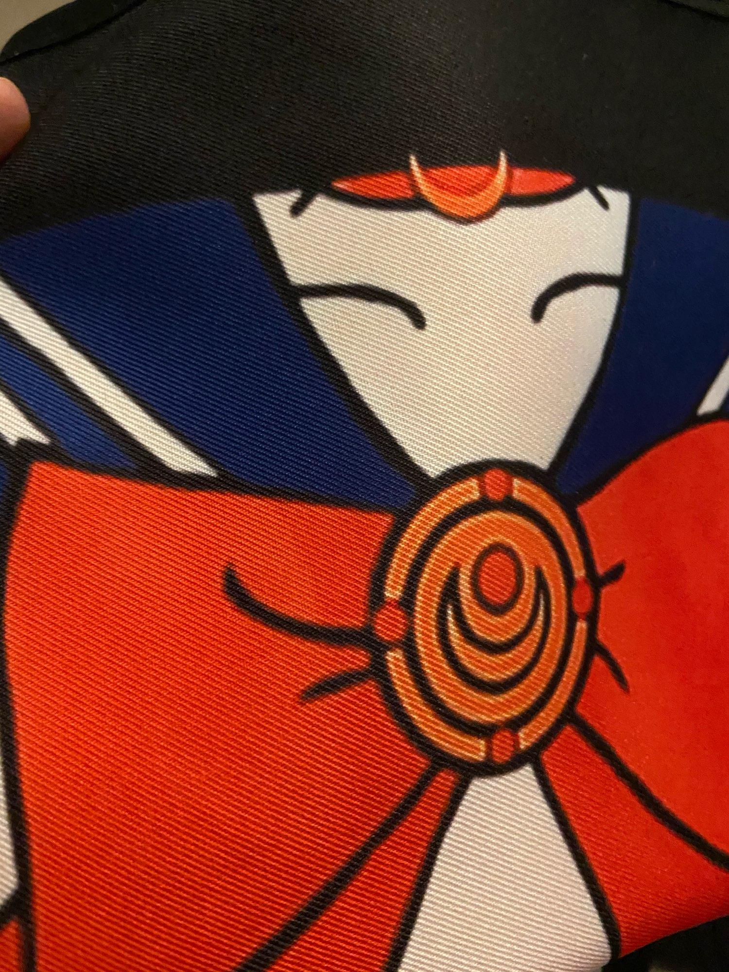 Cartoon Kitchen Textile Fashion Illustration Apron photo review