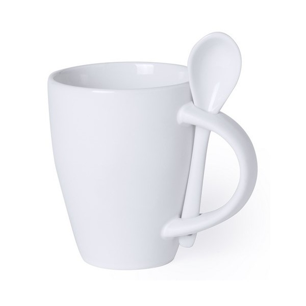 Mug With Small Spoon (300 Ml) 145688