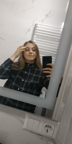 Women Shirts Casual Plaid All Match Loose Long Sleeve Students Daily Bf Ulzzang Single Breasted Womens Korean Style Harajuku photo review