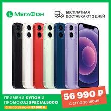 Смартфон Apple iPhone 12 mini 64GB [Ростест, доставка от 2 дней, новый, SIM любых операторов, официальная гарантия]