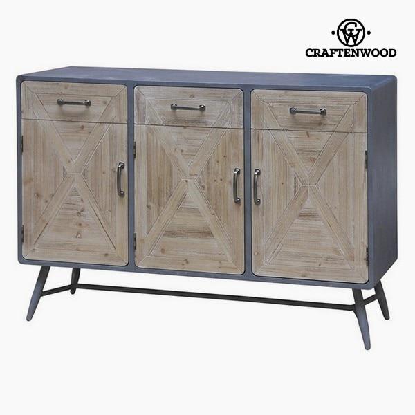 Sideboard Fir Wood Iron (118 X 41 X 83 Cm)