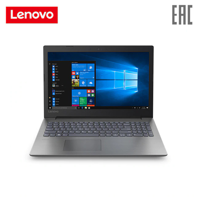 Laptop Lenovo 330-15AST/15.6 FHD AG 200N/E2-9000/4 GB (4 + 0 впайка) /Without HDD/128 GB SSD/Integrated/Windows 10/(81D60094RU) image