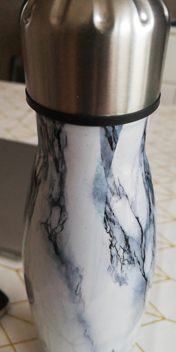 Stainless Steel Water Bottle Vacuum Insulated Flask Thermal Sport Chilly Hot Cold Cup Creative Mug Marble Head Cup 500ML|Water Bottles| |  - AliExpress
