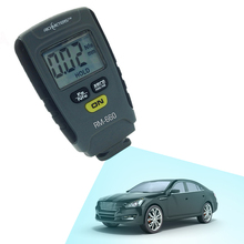 Car Paint Thickness Gauge Lacquer Meter RM660 Digital Coating Thickness Gauging Portable Design Iron Base Non-iron Aluminum