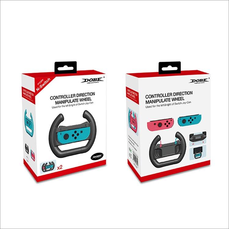 Command Address Steering Wheel For Nintendo Switch Joy-Wiht Dobe Twin Pack