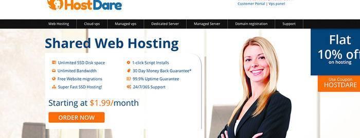 hostdare:6.5折优惠,低至$26/年,支持Windows,KVM/768M内存/35g硬盘/600g流量/支付宝-VPS SO