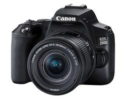 Canon EOS 250D (Rebel SL3) DSLR Camera with 18-55mm IS Lens