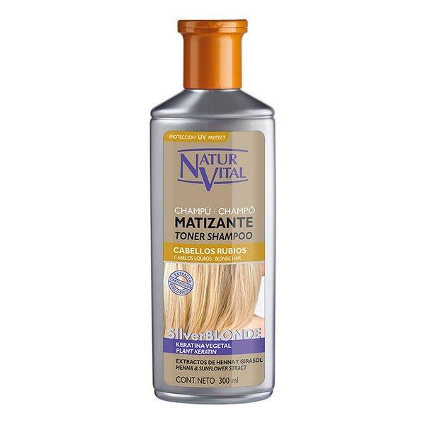 Tinting Shampoo For Blonde Hair Naturaleza Y Vida (300 Ml)