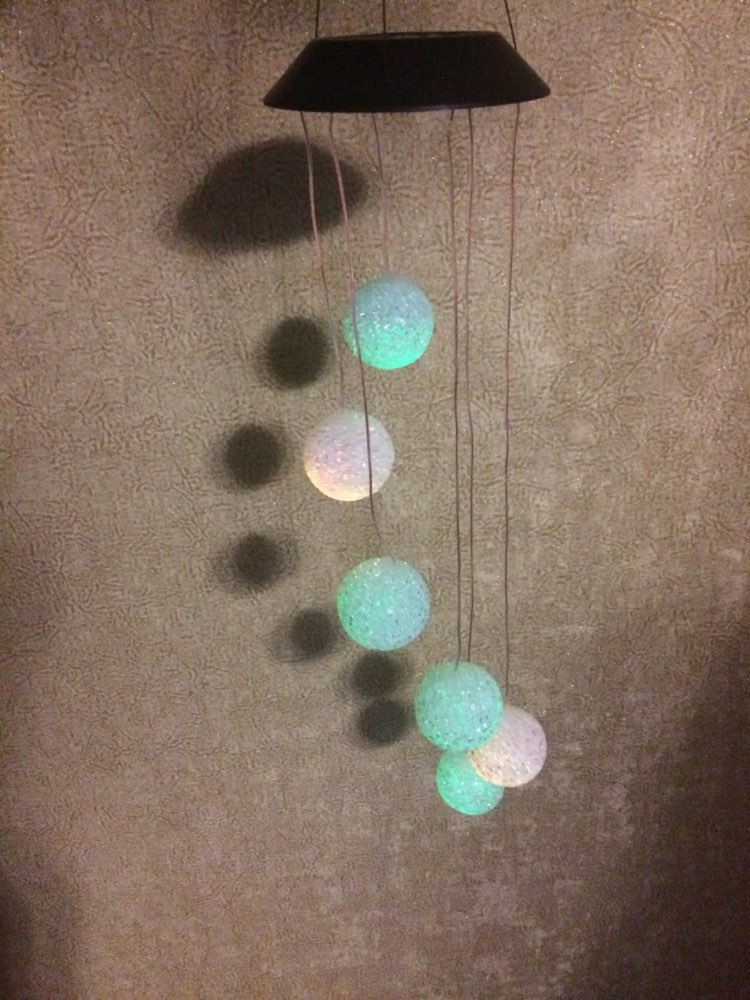 -- Lâmpada Multicolorido Pendurado