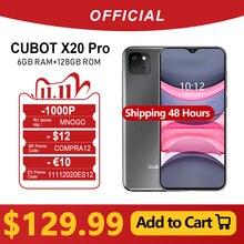 """Cubot X20 プロスマートフォン 6.3 """"fhd + 2340 * 1080 水滴画面 6 ギガバイト + 128 ギガバイトの android 9.0 愛モードトリプルカメラの顔 id cellura エリオ P60 4000 mah"""