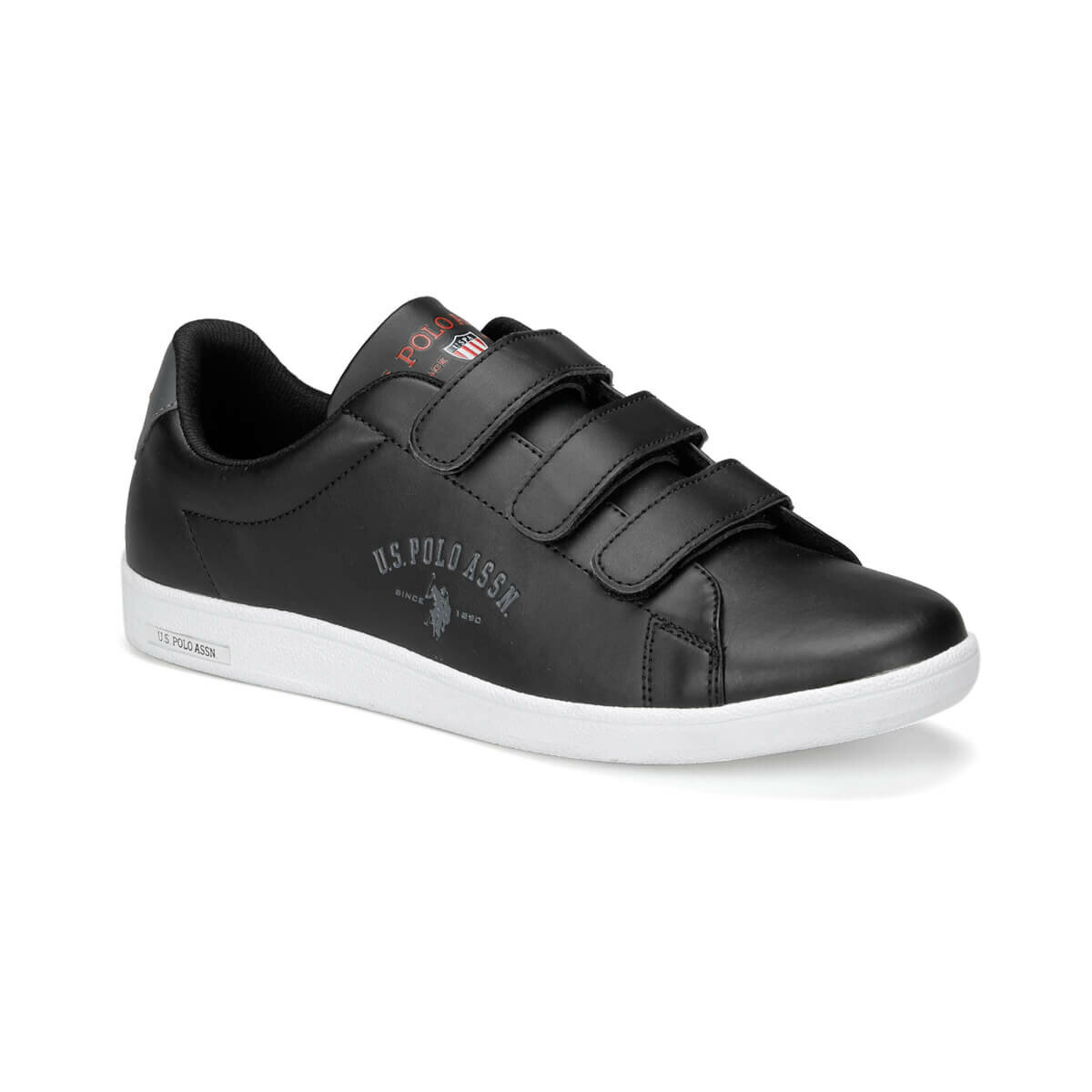 FLO SINGER 9PR Black Men 'S Sneaker Shoes U.S. POLO ASSN.