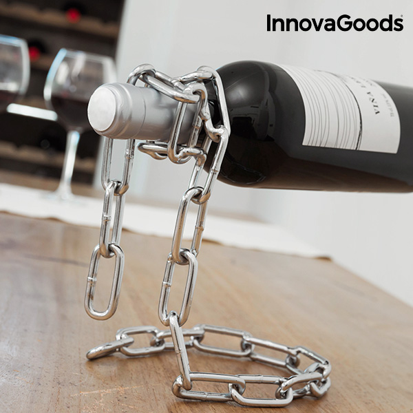 InnovaGoods Floating Chain Bottle Holder