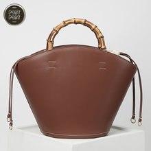 Женская модная сумка 2020 мешок через плечо для женщин из натуральной