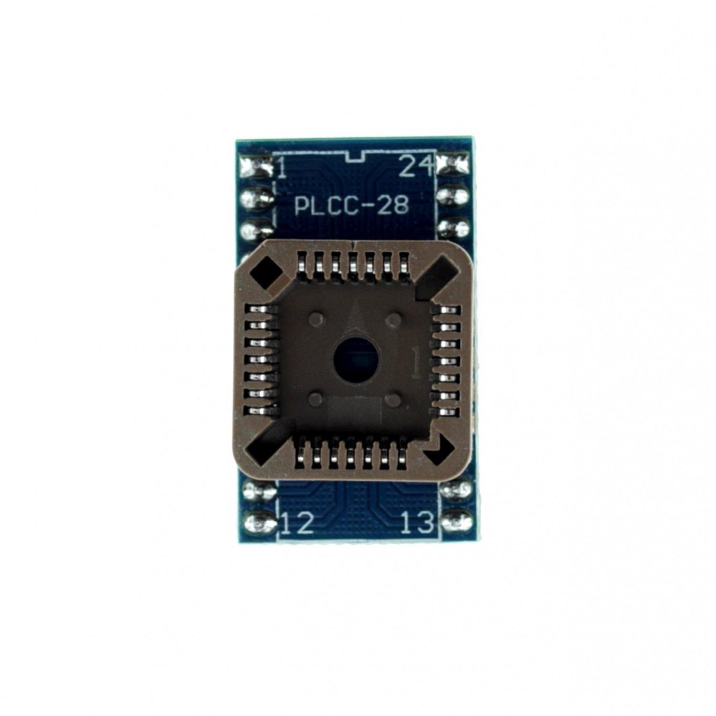 Plcc28 to dip24 socket for programmer max7219 max7219cng max7219eng dip24