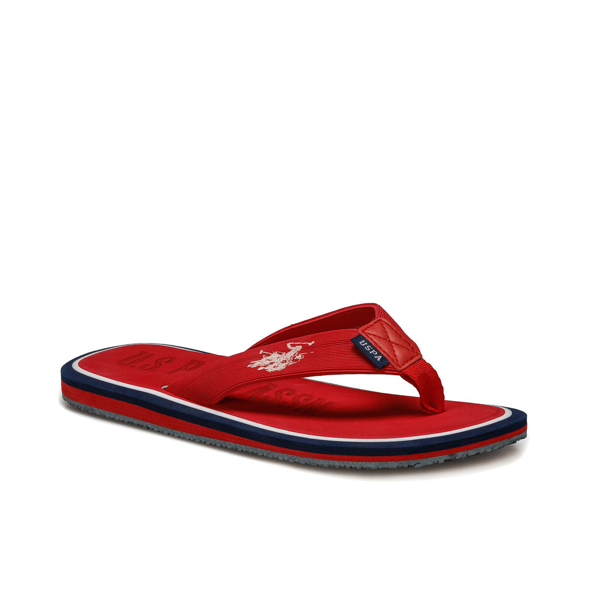 FLO VITUS Red Male Slippers U.S. POLO ASSN.