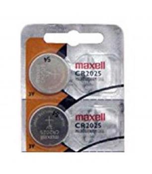 Pilas de boton Maxell bateria original Litio CR2025 3V en blister 2X...