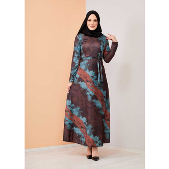 Turkish Clothes For Women Muslim Woman's Clothing Dress Hijabi European Garment Hijab Moroccan kaftan Moroccan tagine Autumn Eid image