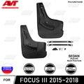 Заднее крыло для Ford Focus III 2015 ~ 2018 седан 2 шт./комплект Брызговики авто автомобиль защита от грязи аксессуары автомобильный Стайлинг