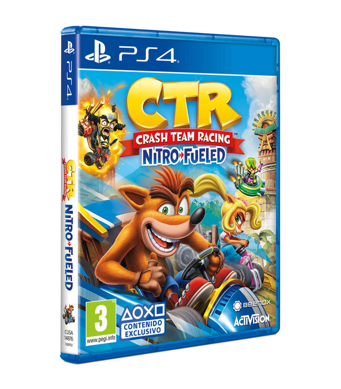 Crash Team Racing Nitro Fueled Ps4 Playstation 4 Games Activision Spain, S.L. Age 7 + image